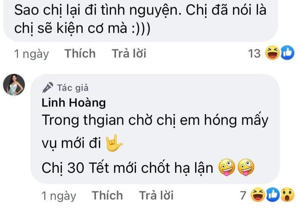Hoàng Thùy phản hồi sau khi em gái đổi nickname và thông báo về việc chống địch - Ảnh 3.