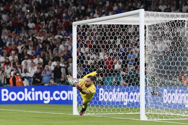 Chấm điểm cầu thủ Italy vs Anh: Siêu nhân mang tên Gianluigi Donnarumma - Ảnh 1.