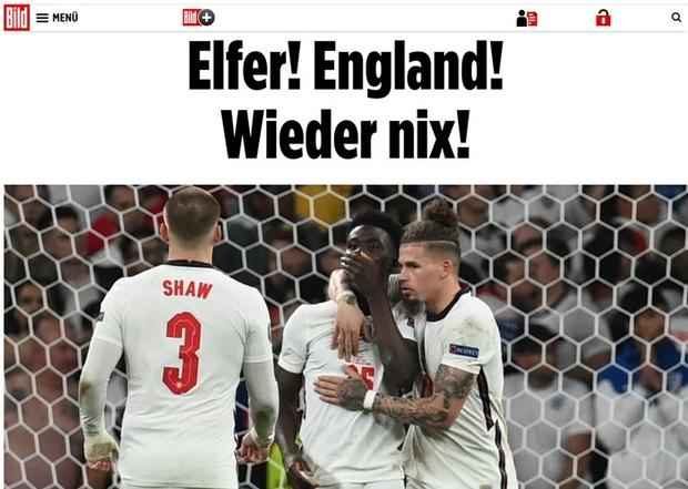 Báo Pháp nâng tuyển Italy lên tận mây xanh, báo Đức hả hê dìm hàng tuyển Anh sau chung kết Euro 2020 - Ảnh 2.
