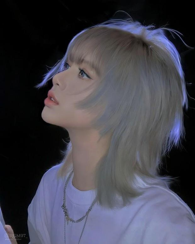 Lisa chính thức lộ diện với tạo hình tóc sói xám đúng như lời đồn, xem ảnh xong đầu bất giác bật ra câu trendy gái Nhật đó! - Ảnh 7.
