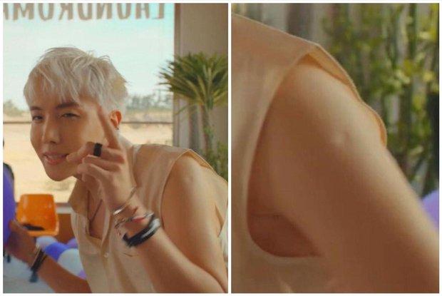 Soi MV mới nhất của BTS, fan sung sướng vì cheap moment cùng idol chưa bao giờ dễ dàng đến thế với vết sẹo đầu đời - Ảnh 2.
