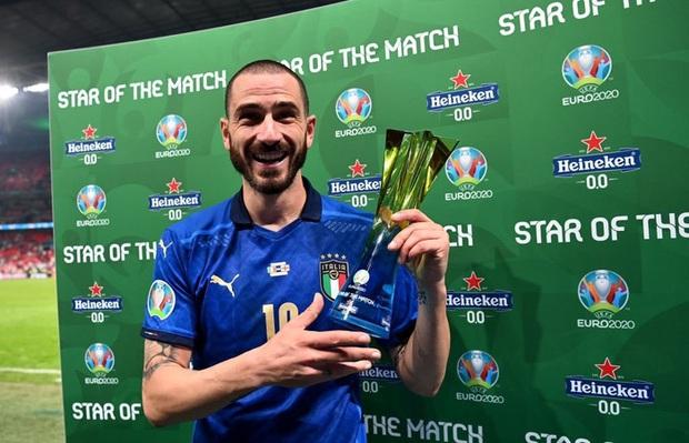 Chấm điểm cầu thủ Italy vs Anh: Siêu nhân mang tên Gianluigi Donnarumma - Ảnh 3.