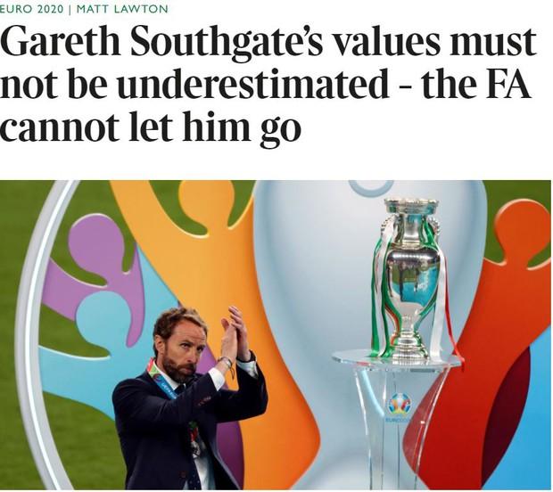 Lòng vị tha kỳ lạ của nước Anh với gã ngốc Gareth Southgate: Kẻ tội đồ được tẩy trắng - Ảnh 7.