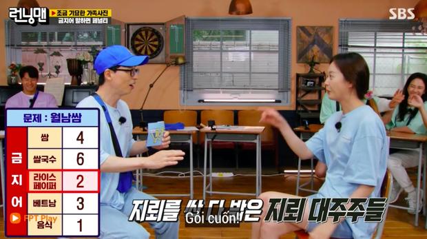 Running Man Hàn đố về món ăn Việt, đáp án khiến Jeon So Min phải ngậm ngùi về chót! - Ảnh 2.