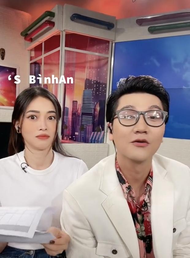 MC VTV bất ngờ thả thính Á hậu đã có bồ là diễn viên nổi tiếng, tìm hiểu hóa ra chỉ là trò đu trend - Ảnh 4.