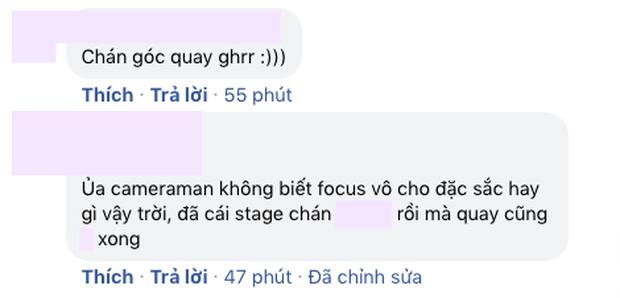 Sân khấu vũ đạo của Hậu Hoàng bị chê góc quay nghiệp dư, netizen còn đòi cắt lương nhân viên quay phim - Ảnh 5.