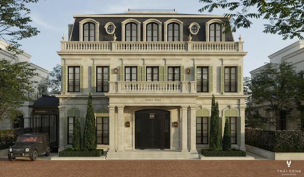 Lộ diện bản thiết kế lâu đài 200 tỷ của Đoàn Di Băng do Thái Công đảm nhiệm - Ảnh 2.
