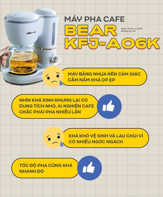 Máy pha cafe Bear: Vừa xinh vừa rẻ nhưng khi dùng nên nâng như nâng trứng nha anh chị em - Ảnh 6.