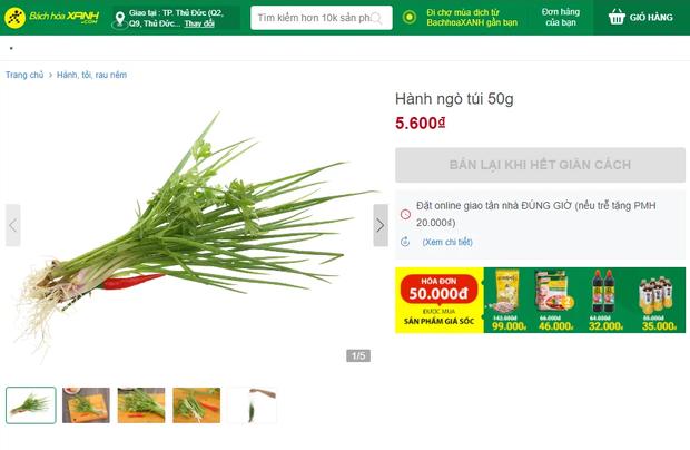 Rau thơm đội giá nhiều lần tại Sài Gòn: Các gian hàng online đều cháy hàng, có nơi treo biển bán lại khi hết giãn cách - Ảnh 1.
