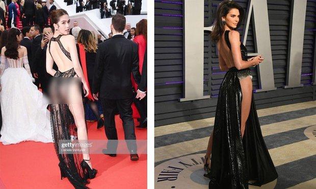 Từng có 1 người đi dự LHP Cannes 3 ngày thì mặc 3 bộ váy tai tiếng: Bộ thì hở cả tam giác, bộ lại bị nghi đạo nhái - Ảnh 6.