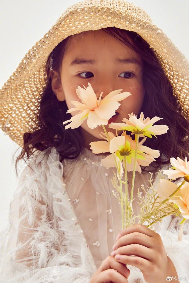 Tiểu công chúa 5 tuổi với visual xinh như thiên thần nhà Điêu Thuyền Đổng Tuyền khiến cả Weibo lịm tim với bộ ảnh mới - Ảnh 7.