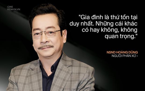 Netizen xúc động khi Việt Anh trả lời câu hỏi liên quan đến NSND Hoàng Dũng, không tin ông trùm phán xử đã ra đi mãi mãi - Ảnh 2.
