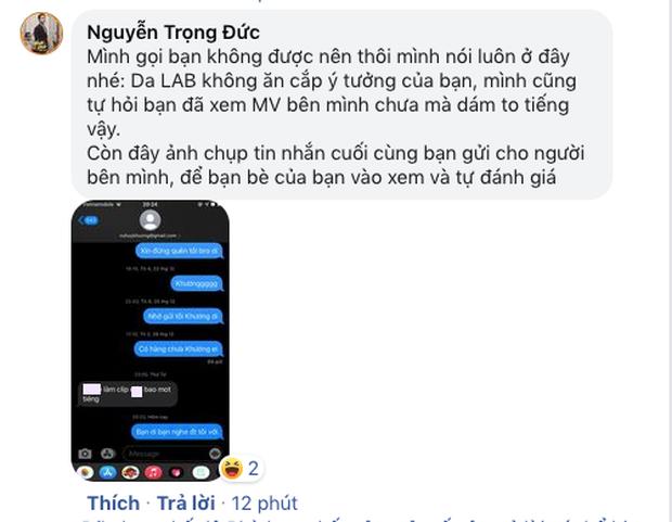 Wowy, đạo diễn Kawaii tràn vào bài đăng bóc phốt, thành viên Da LAB tung tin nhắn tố lại nhưng bị phản dame nguỵ tạo chứng cứ - Ảnh 8.