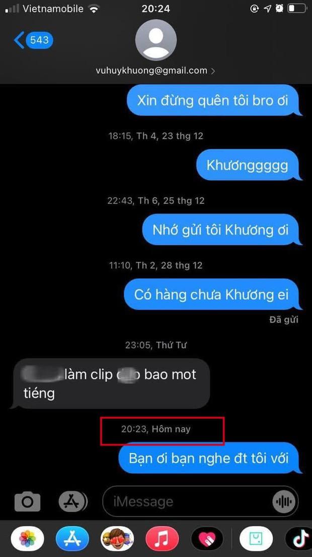 Netizen soi ra bằng chứng thành viên Da LAB xoá tin nhắn, lời giải thích thay điện thoại liệu có hợp lý? - Ảnh 6.