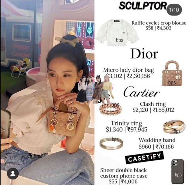 Chán ốp iPhone đắt đỏ của Dior, Jisoo (BLACKPINK) trở lại dùng ốp bình dân với giá chỉ hơn 1 triệu đồng - Ảnh 3.