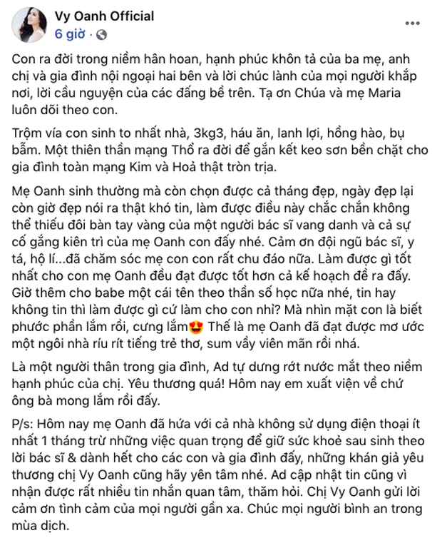 Netizen vò đầu bứt tóc tính thời gian Vy Oanh sinh con: Tháng 3 khoe bụng bầu 8 tháng, lâm bồn sau kỷ lục 12 tháng mang thai? - Ảnh 3.