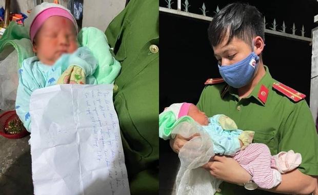 Hà Nội: Phát hiện bé trai sơ sinh bị bỏ rơi trong đêm kèm mảnh giấy để lại - Ảnh 1.