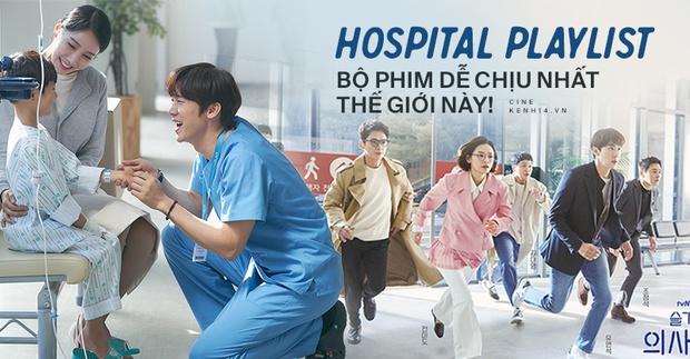 Hospital Playlist: Bộ phim truyền hình dịu dàng và dễ chịu nhất thế giới ngay lúc này! - Ảnh 1.
