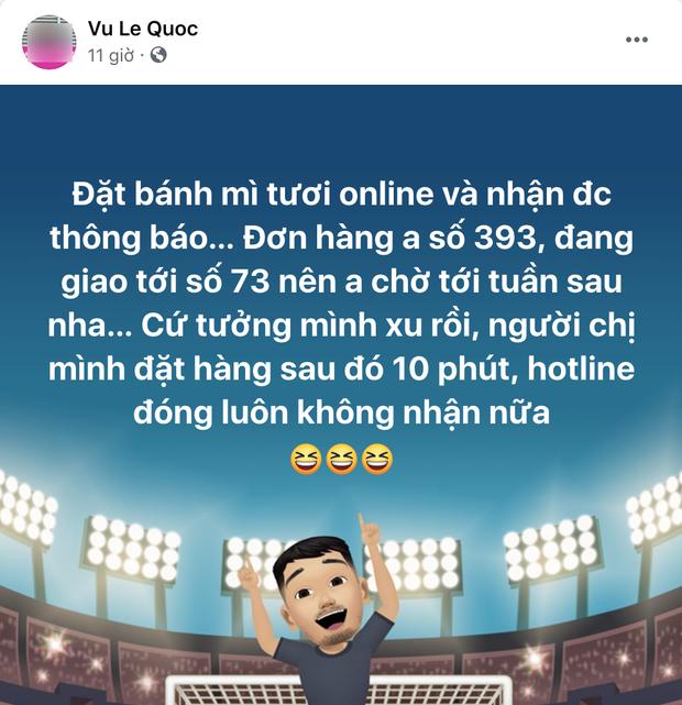 Đặt mua bánh mì ở Sài Gòn lúc này: Ai may mắn thì đợi 1 tuần, ai đặt muộn thì... chịu! - Ảnh 1.