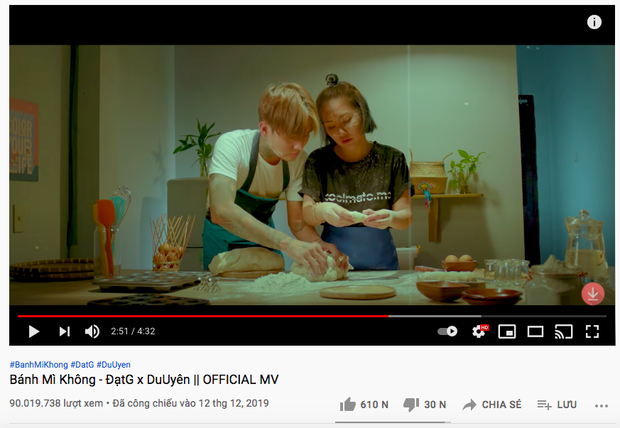 Netizen tràn vào MV Bánh Mì Không sau clip Đạt G đánh đập Du Uyên, còn mỉa mai đòi xóa MV - Ảnh 5.
