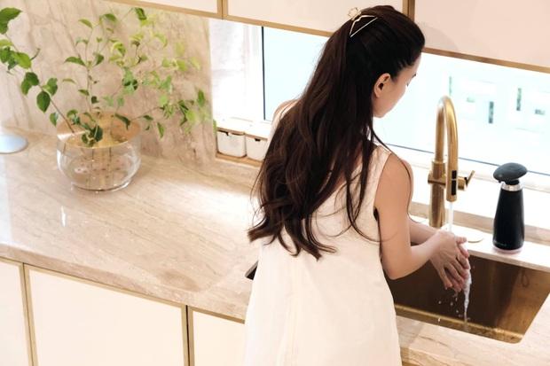 Căn bếp sặc mùi tiền của Hà Hồ: Máy hút mùi ẩn hiện giá 200 triệu, riêng bếp từ cũng gần 60 triệu - Ảnh 8.