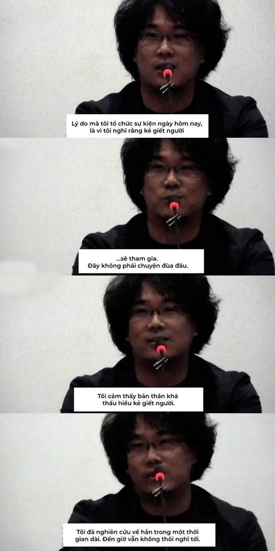 Vụ án hiếp dâm, thảm sát 10 phụ nữ từ 13 - 70 tuổi lên phim, đạo diễn Bong Joon Ho ám chỉ sát nhân tới dự cả họp báo - Ảnh 7.