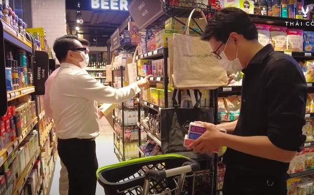 NTK Thái Công đi siêu thị trong mùa dịch liên tục kêu trời vì giá quá đắt, tổng số tiền lúc thanh toán gây sốc nặng - Ảnh 1.