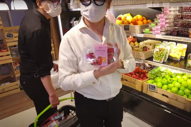 NTK Thái Công đi siêu thị trong mùa dịch liên tục kêu trời vì giá quá đắt, tổng số tiền lúc thanh toán gây sốc nặng - Ảnh 5.