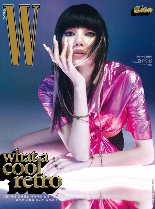 Jennie - Lisa (BLACKPINK) đại chiến bìa tạp chí: Cơ bụng số 11 của Jennie có nổi bằng tóc Nhật cực lạ của Lisa? - Ảnh 7.