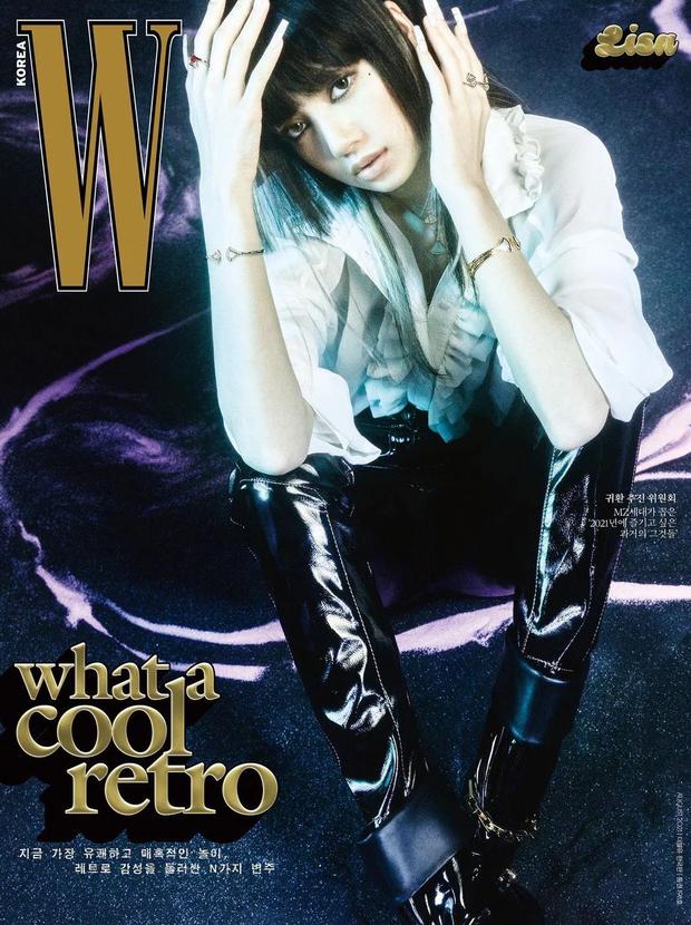 Jennie - Lisa (BLACKPINK) đại chiến bìa tạp chí: Cơ bụng số 11 của Jennie có nổi bằng tóc Nhật cực lạ của Lisa? - Ảnh 5.