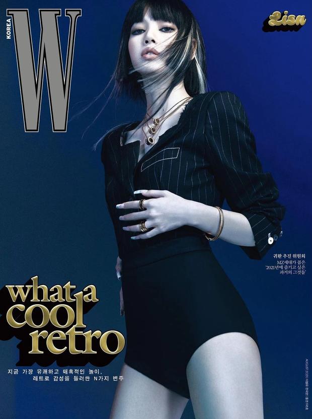 Jennie - Lisa (BLACKPINK) đại chiến bìa tạp chí: Cơ bụng số 11 của Jennie có nổi bằng tóc Nhật cực lạ của Lisa? - Ảnh 6.