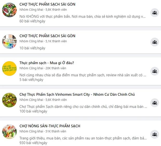 Các group bán thực phẩm tươi sống ở Sài Gòn xôm nhất lúc này: Tiểu thương đăng bài rôm rả, thịt cá hải sản phong phú - Ảnh 1.