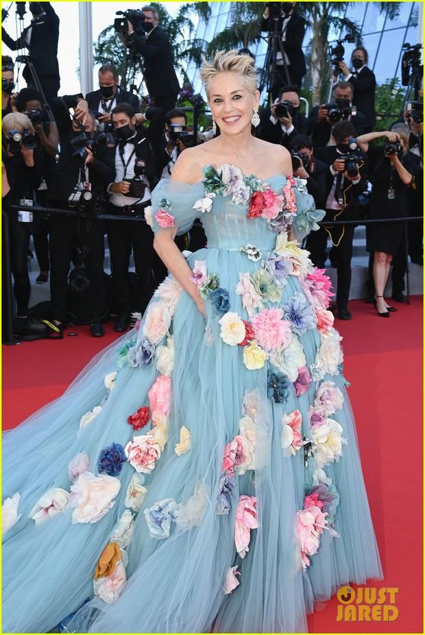 Thảm đỏ LHP Cannes: Tình cũ Brooklyn Beckham lộng lẫy nhưng mặt đầy mụn, mỹ nhân Catwoman như trải thảm hoa rực rỡ nhất hôm nay - Ảnh 6.