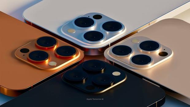 Hé lộ concept đẹp nhức nách với toàn màu mới của iPhone 13 Pro Max - Ảnh 5.