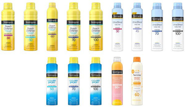 Johnson & Johnson thông báo thu hồi 5 dòng kem chống nắng chứa chất gây ung thư, đều của Neutrogena và Aveeno - Ảnh 2.