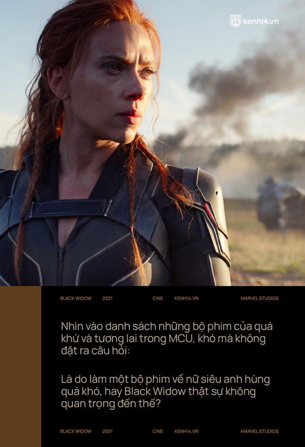 Black Widow: Làm phim nữ siêu anh hùng quá khó, hay Góa Phụ Đen không đủ quan trọng với Marvel? - Ảnh 5.