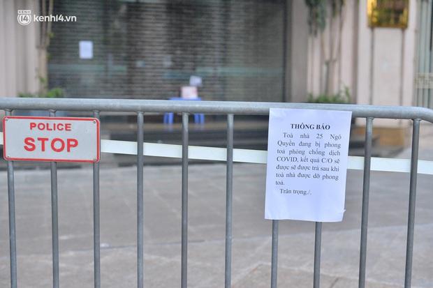 Hà Nội: Phong tỏa tạm thời trụ sở một Cục của Bộ Công Thương sau khi ca mắc Covid-19 từng đến chuyển công văn - Ảnh 6.