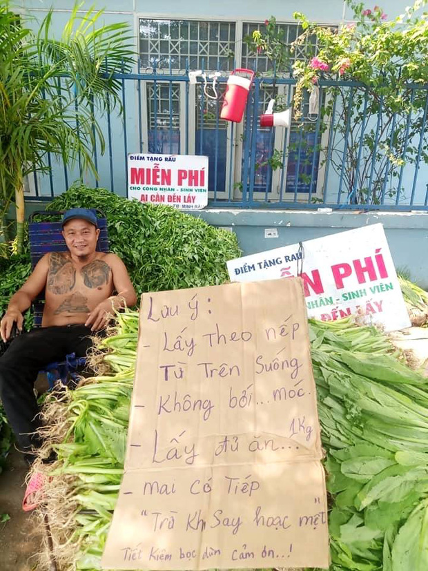 Anh bán rau khiến MXH dậy sóng: Rau muống đột biến 5 tỷ/bó nhưng sẵn sàng mang cho những người khó khăn - Ảnh 5.