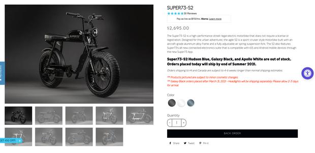 Ngọc Trinh khoe mới tậu xe đạp điện giống hệt Sơn Tùng M-TP, giá đắt như xe SH - Ảnh 3.