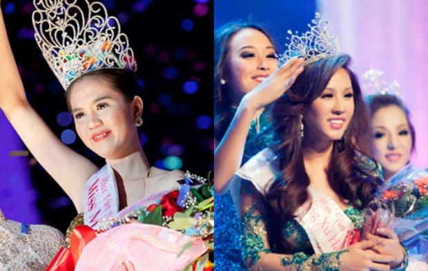 Ngọc Trinh bị đào lại quá khứ đăng quang Hoa hậu ao làng, netizen đặt nghi vấn vì 1 chi tiết giống với Thu Hoài? - Ảnh 5.