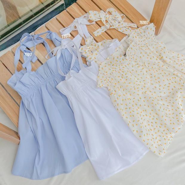 Chị em sắm áo hai dây babydoll đi: Toàn mẫu xinh xẻo mix được với 1001 loại đồ, chiếc rẻ nhất chỉ 45k - Ảnh 4.