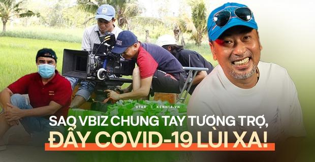 Tình nghệ sĩ đẹp nhất lúc này: Quang Dũng kêu gọi 800 triệu tiếp sức 538 đồng nghiệp, Vbiz chung tay vì 1 diễn viên cả nhà nhiễm Covid - Ảnh 2.