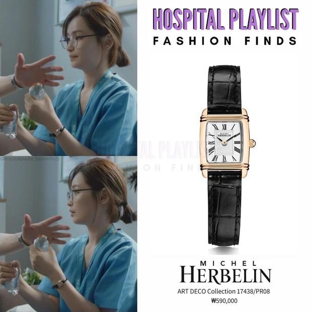 Nhìn giản dị nhưng giáo sư Song Hwa (Hospital Playlist 2) đã chi hẳn 80 triệu để mua 5 chiếc đồng hồ na ná nhau - Ảnh 3.