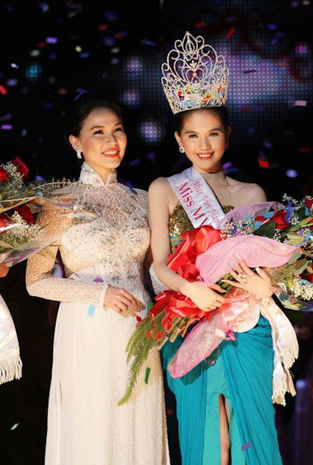 Ngọc Trinh bị đào lại quá khứ đăng quang Hoa hậu ao làng, netizen đặt nghi vấn vì 1 chi tiết giống với Thu Hoài? - Ảnh 4.