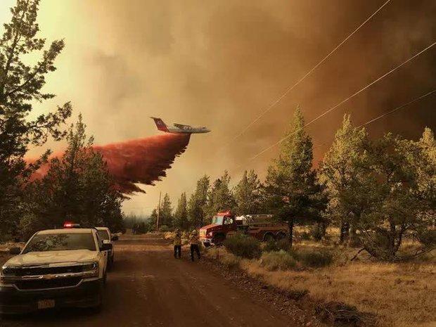 Cháy rừng bùng phát mạnh ở các bang miền Tây nước Mỹ, hàng nghìn ngôi nhà bị ảnh hưởng - Ảnh 5.