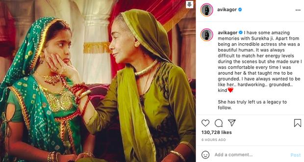 """Tin buồn: Bà nội chồng của Cô Dâu 8 Tuổi qua đời, hưởng thọ 76 tuổi, """"Anandi"""" Avika Gor xót xa tiễn biệt - Ảnh 3."""
