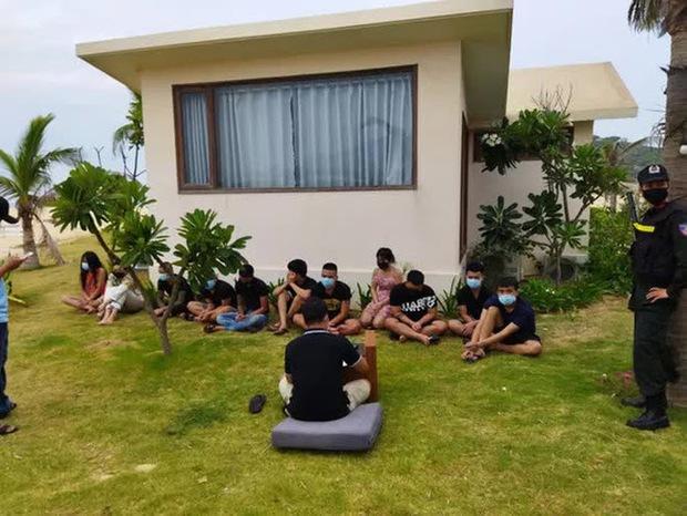 85 thanh niên chơi ma túy trong resort bên bờ biển Bình Định: Tạm giam 21 đối tượng - Ảnh 1.