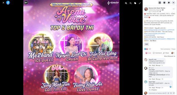 """Quán quân cuộc thi Liên Quân """"Arena of Voice"""" chính thức lộ diện, ẵm trọn giải thưởng hơn 400 triệu đồng - Ảnh 1."""