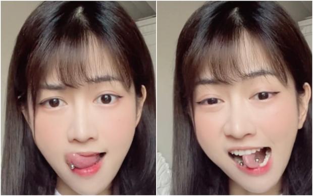 Bị anti vì lè lưỡi quá nhiều, Lê Bống tung luôn clip uốn lưỡi bảy lần thách thức netizen - Ảnh 2.