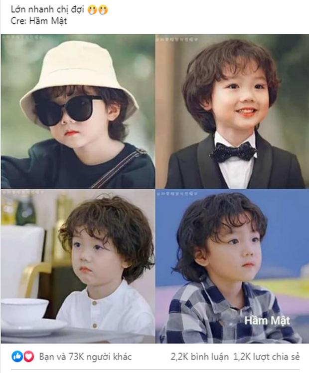 Fan Việt phát rồ vì sao nhí đáng yêu ở phim ngôn tình Hạ Tiên Sinh, thu về 73 nghìn like với hai má bánh bao trắng mềm - Ảnh 15.